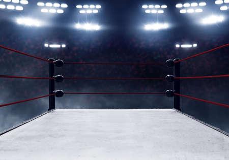 Ring de boxe professionnel