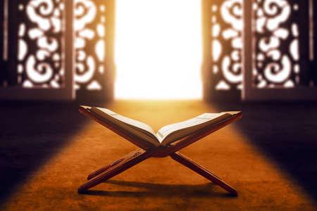 Libro sacro del Corano dei musulmani