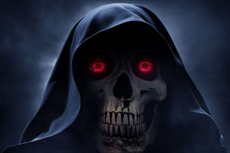 Close up of the grim reaper Reklamní fotografie