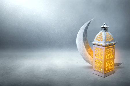 Arabic lantern, Ramadan kareem background 新闻类图片