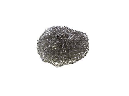 molars: Pincel para el lavado de cer�mica aislada en un fondo blanco  Foto de archivo