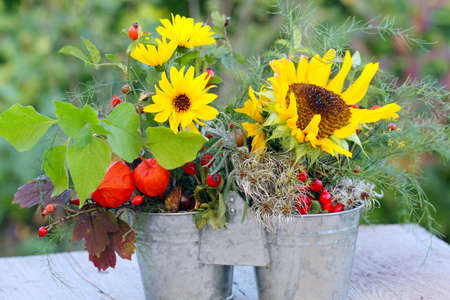 autumn arrangement: Autumn arrangement , Duo in Autumn