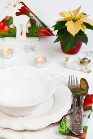 Christmas menu  photo