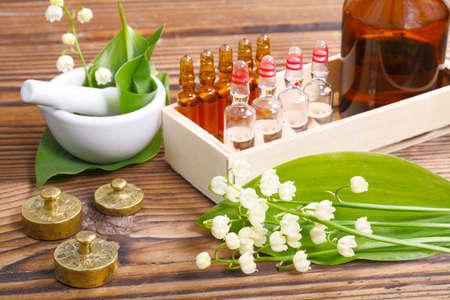 Naturopatía, ampollas