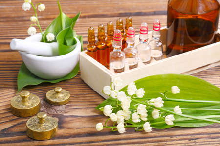 alternative medicine: Naturopathy, ampules