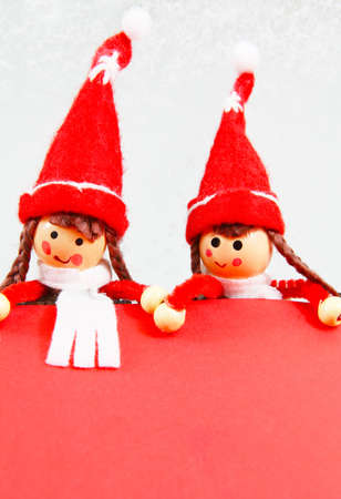 Christmas Elf with Wishlist photo