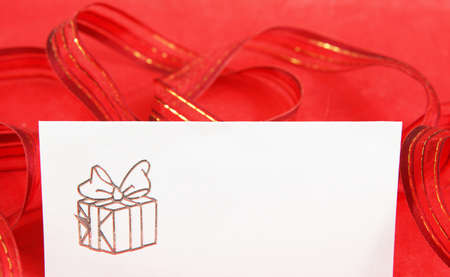 Place cards for Christmas photo