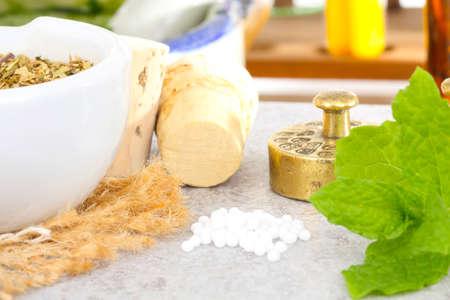 Homeopathy, globules