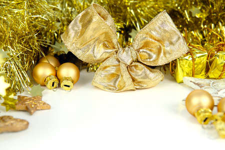 Gift Certificate in Gold Stock Photo - 21830574
