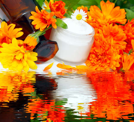 Marigold cream, marigold ointment