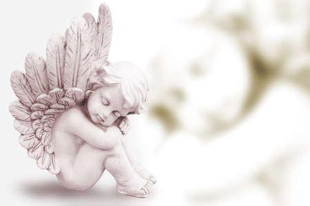 Träumen Engel Standard-Bild