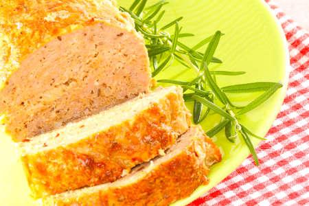 Sliced meatloaf Stock Photo - 22107331