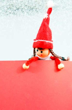 wish list: Christmas Elf with Wish list