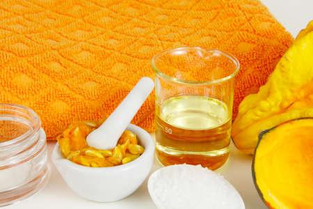 Pumpkin as a beauty product
