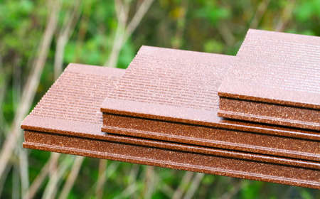 floor coverings: WPC boards