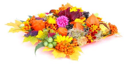 autumn motif: Autumnal table decoration