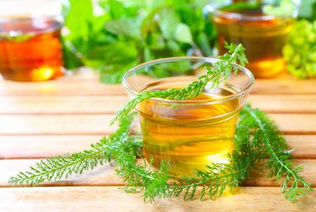 yarrow: Yarrow herbal tea