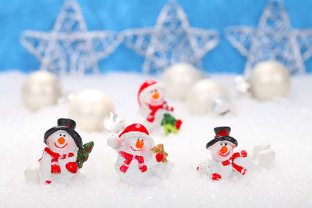 Happy Snowmen photo