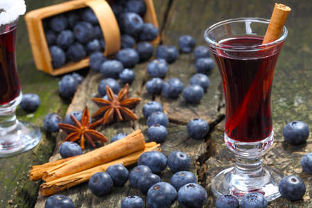Invitation to the blueberry mulled wine photo