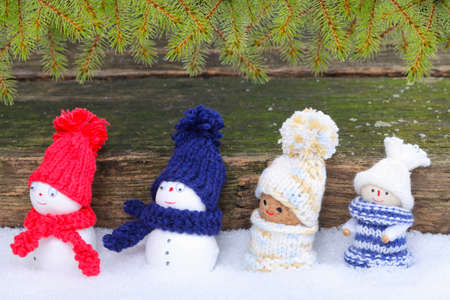 Christmas Gifts - itself tinkered Stock Photo - 24084397