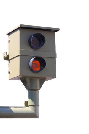 Radar control, flash, speed camera, speed cameras Stockfoto