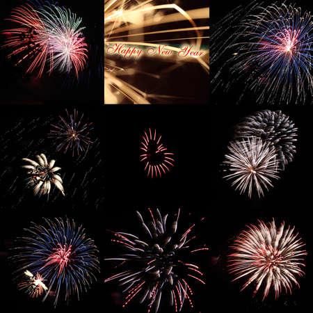 Firework Impressions Reklamní fotografie - 24395179