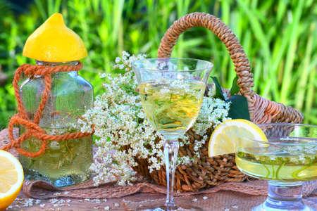 Elderflower drink Reklamní fotografie