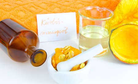 Pumpkin as a beauty product  photo