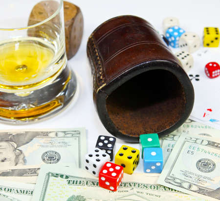 knave: The dice have fallen Stock Photo