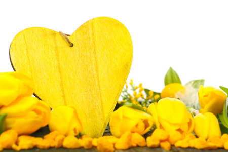 Yellow Spring Decoration  photo