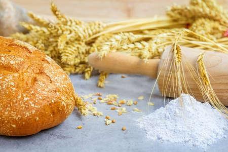 Potato bread Imagens