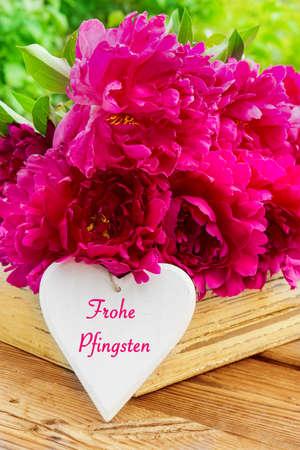 Frohe Pfingsten Standard-Bild - 29121142