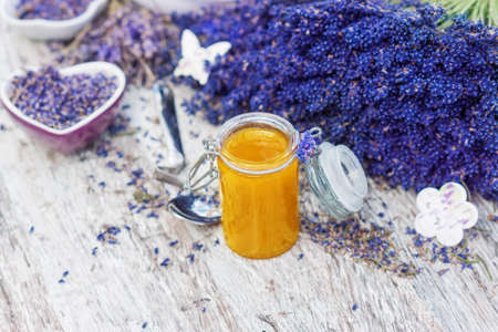 Lavender honey photo