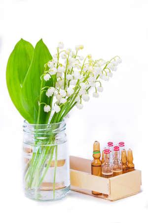 Heilpflanze Maiglöckchen Standard-Bild - 31906757