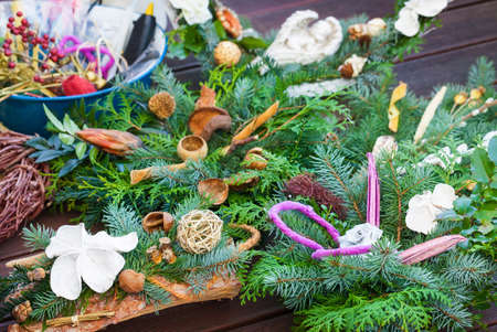 flowerpower: Advent arrangement, tinker grave Arrangement