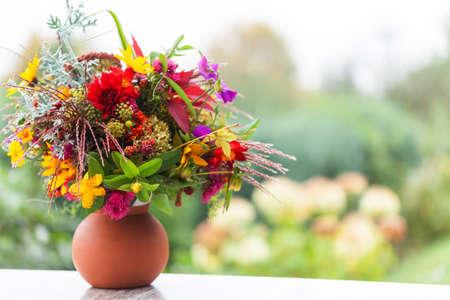 Autumn bouquet photo