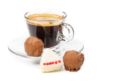 pralines: Espresso and pralines