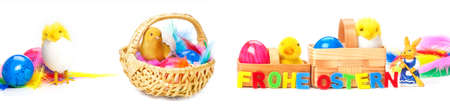 hatched: Easter decoration, Easter card Stock Photo