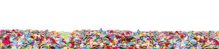 Confetti, carnival, background Imagens