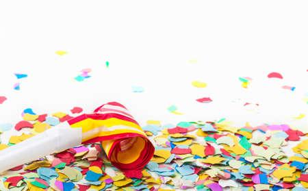 Carnival, Confetti, trumpet