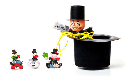 charms: Chimney sweep, lucky charms