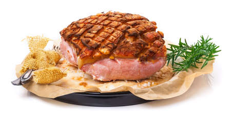 crust: Salt roast, pork roast crust