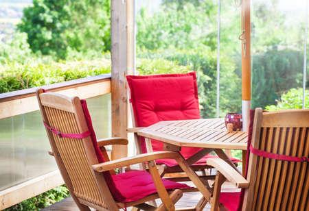 sitting area: Sitting area on terrace