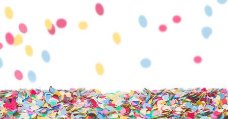 Confetti, background, carnival, Standard-Bild