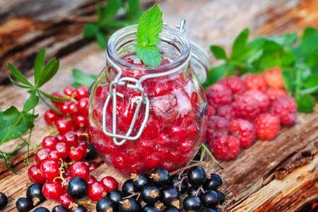 woodruff: Boil down Fresh Berries