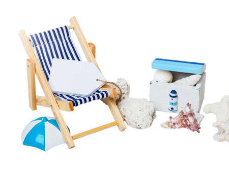 treasure box: Summer, holiday, beach, sun lounger