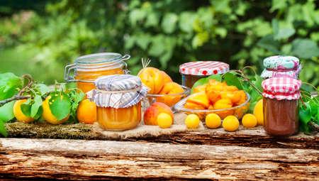 Apricots, Mirabelle, jam