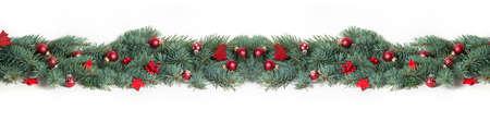 garland: Christmas Background, Banner