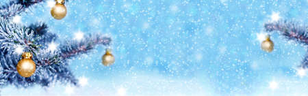Christmas background, banner