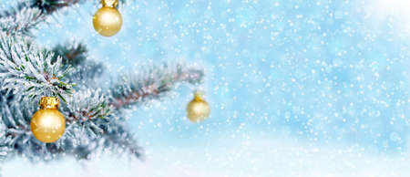 Christmas background, banner